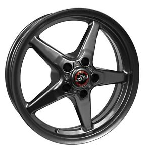 Race Star 92 Drag Star 17x4.75 5x4.75bc 1.75bs Direct Drill Met Gry Wheel