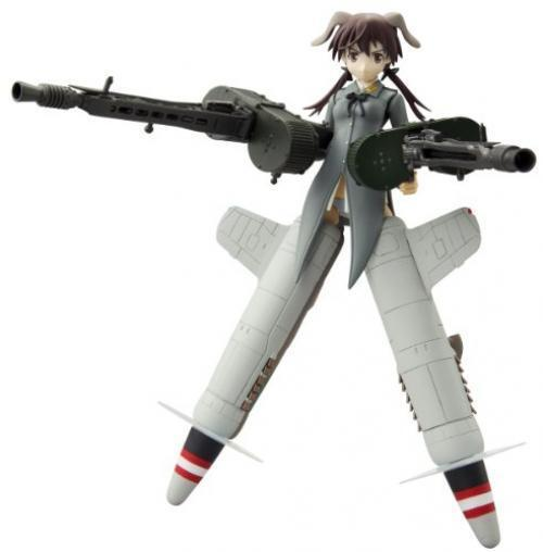 NEW Armor Girls Project Strike Witches GERTRUD BARKHORN Action Figure BANDAI F S