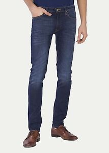 aa1d8092 Image is loading Lee-LUKE-Slim-Tapered-Stretch-Jeans-True-Authentic-