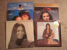 Crystal Gayle 6 lp lot These Days,I've Cried the Blue Right Out of My Eyes