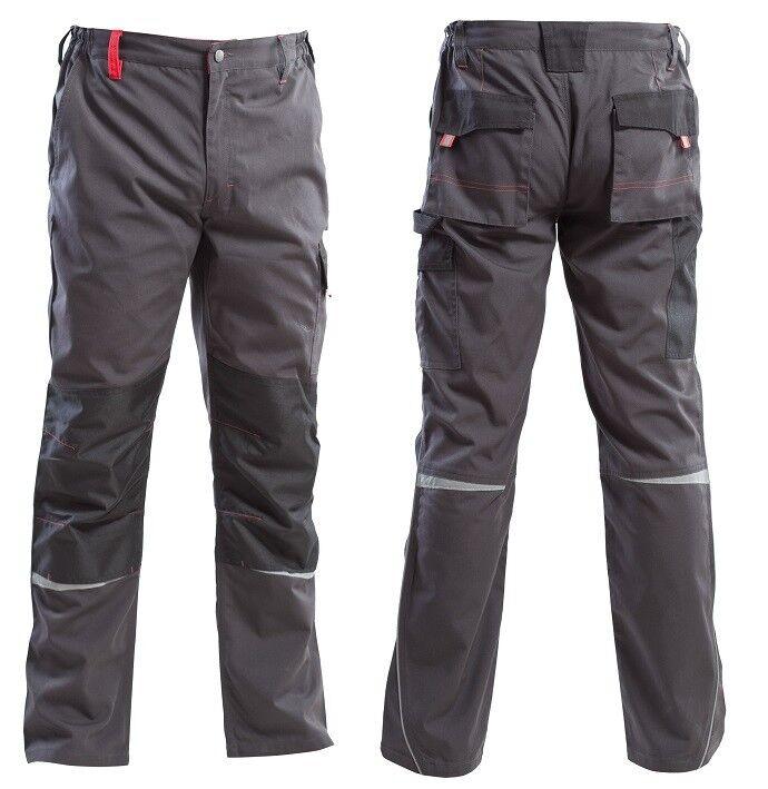 "Pantalone da lavgold linea ""Land"" greyred"