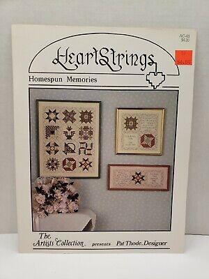 HEARTSTRINGS~Cross Stitch Pattern~The Homespun Heart