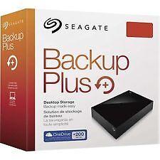 "Seagate 4TB Backup Plus  Usb POWER Hard Drive 3.5"" STDT4000300"
