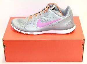 Womens Nike 512237-009 Free Advantage Silver/Fireberry Athletic Shoe Sz 9.5 NWOB