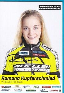 CYCLISME-carte-cycliste-RAMONA-KUPFERSCHMIED-equipe-WHEELER-WORLDWILDE-signee