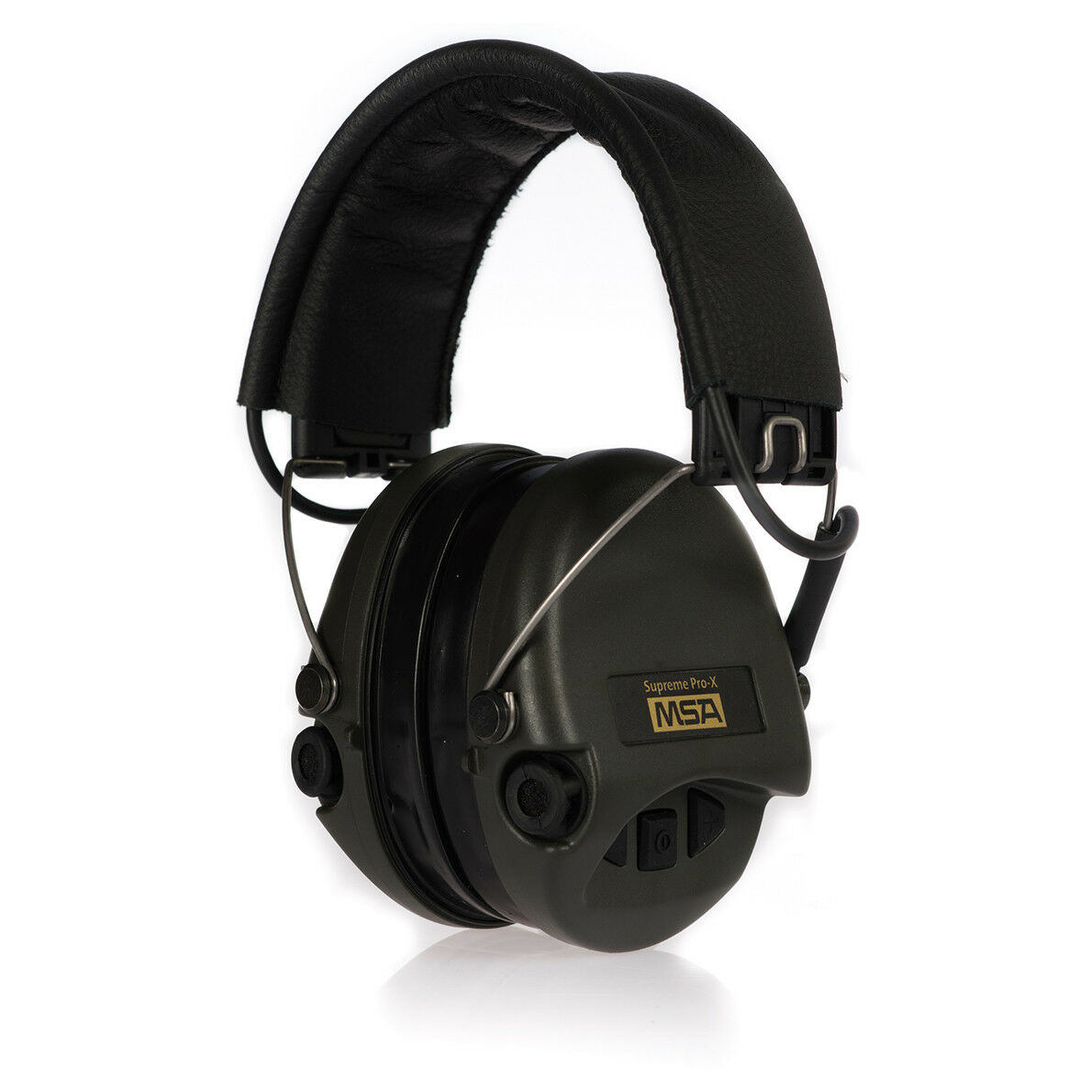 De seguridad MSA Sordin Supreme Pro X projoección para los oídos con AUX entrada, De Cuero +