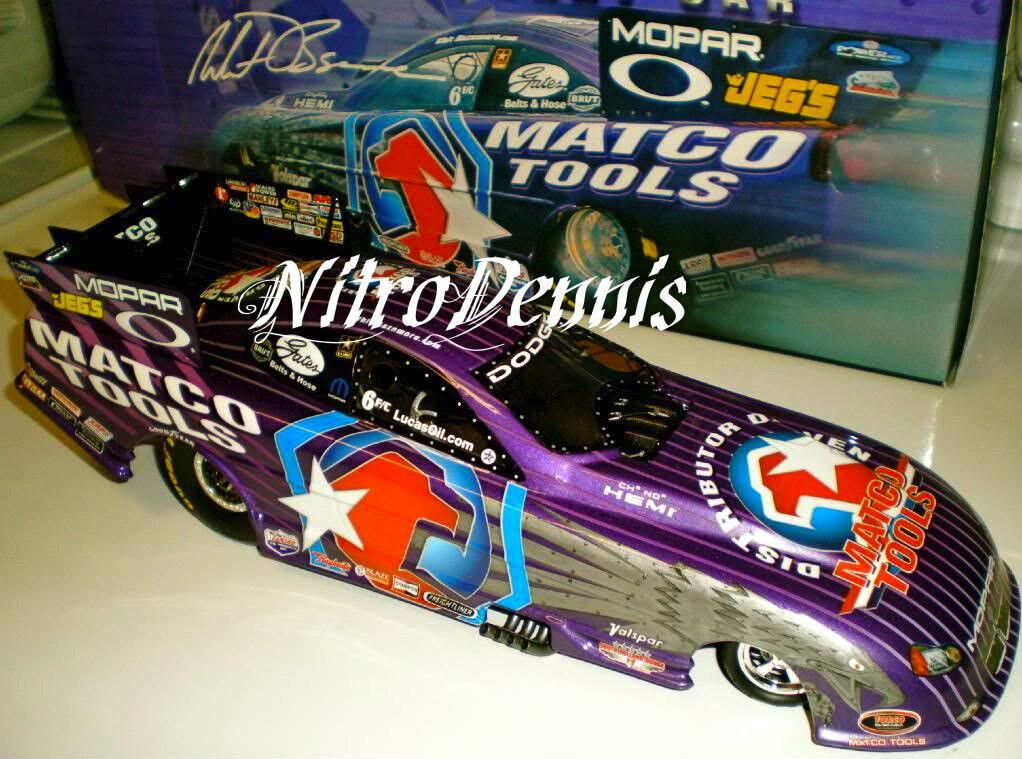 NHRA WHIT BAZEMORE 1 16 Milestone IRON EAGLE 05 Diecast NITRO Funny Car DSR-368