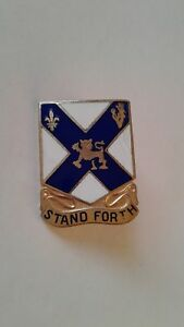 Authentic-US-Army-102nd-Infantry-Regiment-Unit-DI-DUI-Crest-Insignia-GEMSCO-NY