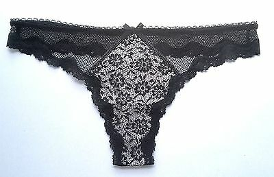 Victoria/'s Secret Nude S L Thong No Show Look Panty PINK Collection NIP M