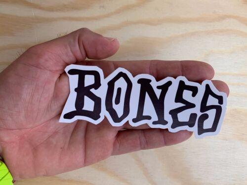 "BONES SKATE Sticker 5/"" Large Skateboard Surf Snowboard Peralta Decal Made in USA"