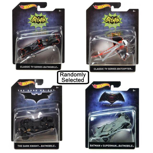 Hot Wheels DC Batman Themed Vehicles Assorted 1:50
