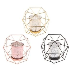 Nordic-Style-3D-Geometric-Candlestick-Metal-Candle-Holder-Wedding-Home-Decor