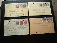 BELGIQUE - 4 cartes 1926/1927/1929 (cy72) belgium