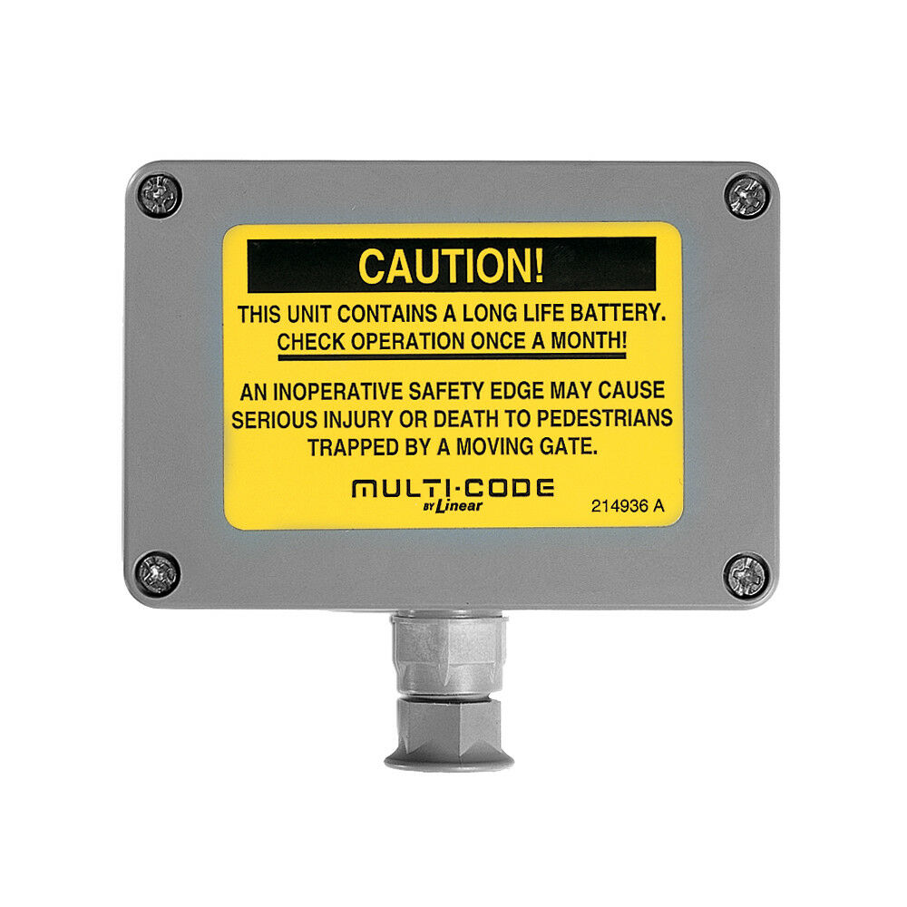 Linear MCS105104 Gate Safety Edge Transmitter 310MHz Stanley, Multicode Receiver