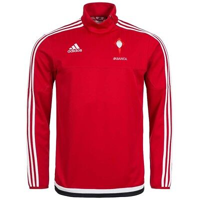 Celta Vigo adidas Fußball Spanien Herren Training Top Sweatshirt S47726 rot neu