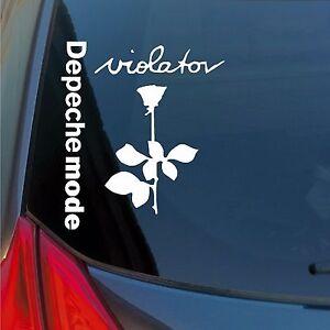 Depeche-Mode-Violator-rose-vinyl-sticker-decal-new-wave-alternative-Gore-Gahan
