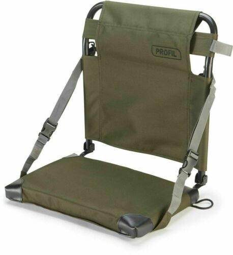 Leeda New Profil Olive Green Padded Adjustable Straps Sea Fishing Boat Seat