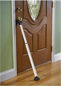 Door Security Floor Bar On Image Is Loading Masterdoorsecuritybar Master Door Security Bar Ebay