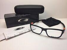 New In Box Oakley Marshal Polished Black Frames W/Orange Eyeglasses OX8034-0753