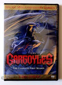 Amazing-Disney-Channel-Cartoon-Series-Gargoyles-The-Complete-First-Season-DVD