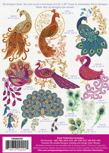 Your Choice of One Anita Goodesign Embroidery Design Full Collections CDs