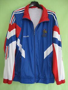 Veste Equipe France 1992 Adidas Vintage Jacket