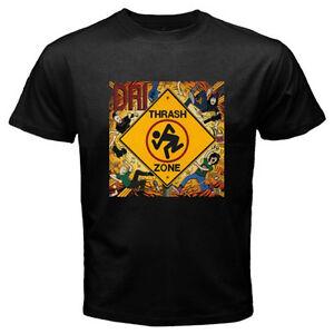 New-D-R-I-DRI-Dirty-Rotten-Imbeciles-Trash-Zone-Men-039-s-Black-T-Shirt-Size-S-3XL