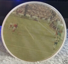 3D England 1966 World Cup Winners Silver Coin Video Goal Geoff Hurst Bobby Moore