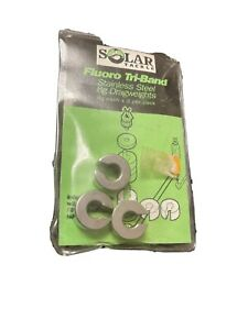 Solar Tackle Fluoro Tri-bands Stainless Steal 8g Dragweights