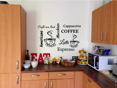 COFFEE CUPS AND COFFEE WALLART size approx 50CM X 34CM