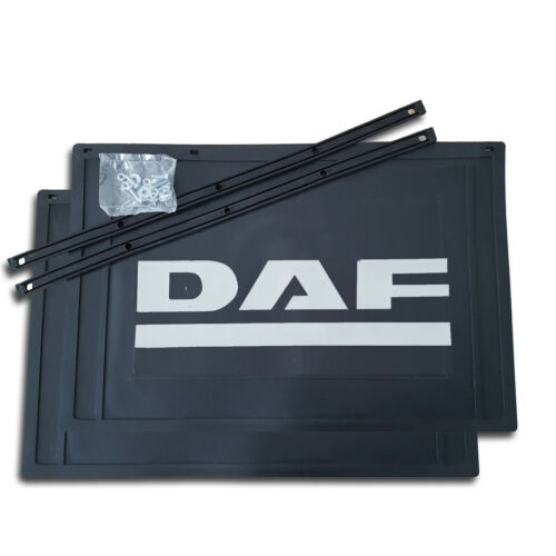 2 x coladero 450 x 300//spritzlappen//protección contra salpicaduras-Camión remolque DAF