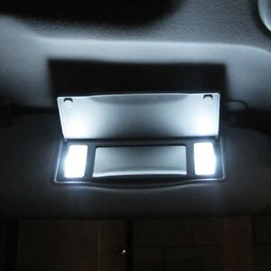 6000K White 5050 SMD 6641 Fuse LED Bulbs Car Vanity Mirror Lights Sun Visor Lamp