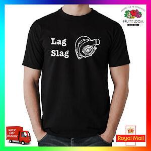 ac999e34a4 Lag Slag T-Shirt Shirt Printed Tee Big Turbo Diesel Rally Anti ...