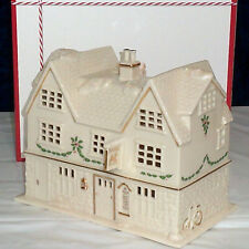 LENOX CHRISTMAS VILLAGE VICTORIAN HOUSE Holiday Lit NEW in BOX Lighted series
