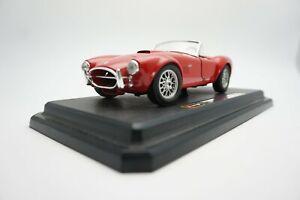 Burago-0513-Ford-Ac-Cobra-427-1965-Rojo-1-24-escala-Diecast-Modelo