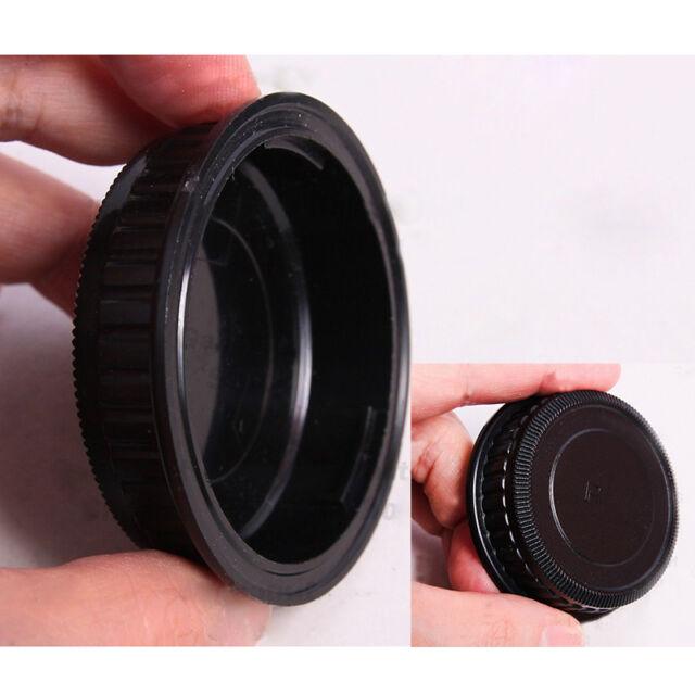 1x  Black Rear Lens Cap Cover for Pentax PK K20D K10D K200D K100  Mount Len S7U8