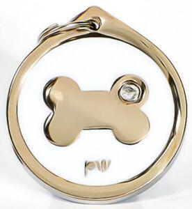 Meilleure Qualité Personnalisé Bone Pet Chien Chat Id Col Balises Disques Livraison Gratuite-afficher Le Titre D'origine
