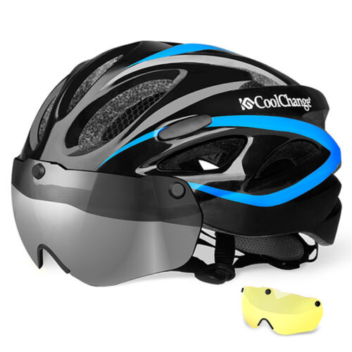 MTB Road Bike Adult Helmet Cycling Bicycle Safety Helmet With Magnetic Goggles
