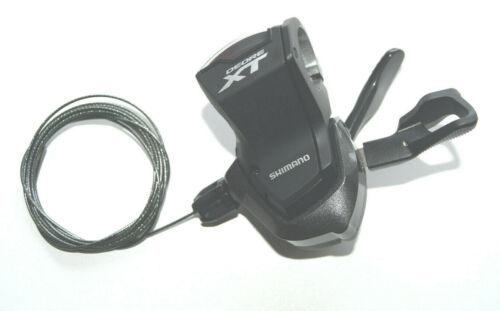 Shimano SL-M8000 Rapidfire Schalthebel Deore XT links 2//3-fach Lenkerklemme