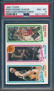 1980-Topps-Basketball-Larry-Bird-R-Cartwright-Drew-15-PSA-8-CELTICS-HOF