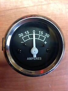Mf Massey Ferguson Amp Meter Clock Ammeter 35 65 T20 Diesel 100 Series  Tractor