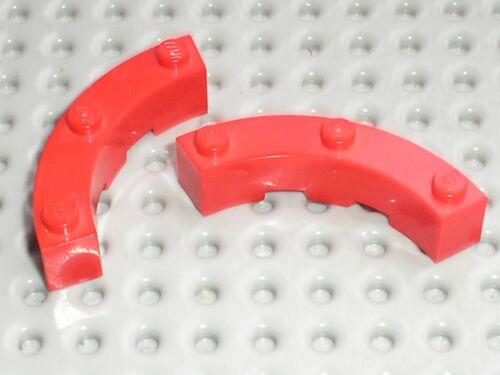 LEGO STAR WARS Red brick round corner ref 48092 set 7665 8157 10184 7944 4982