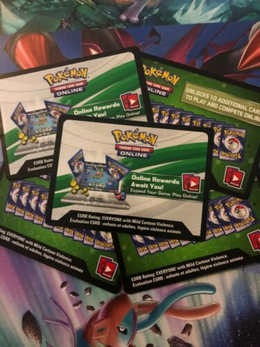 Fast Delivery! Pokemon Card BURNING SHADOWS x25 ONLINE BOOSTER CODES