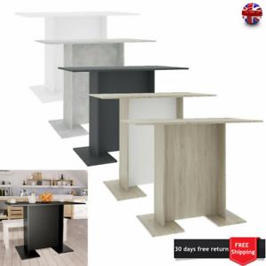 Dining Table Bistro Kitchen Breakfast Bar Table Chipboard Furniture 110x60x75 Cm Ebay