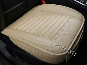 2PCS PU Leather Auto Car Seat Cover Seat Cover Pad For Drivers and passengers