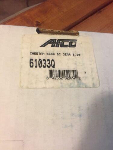 New AFCO Cheetah 10 Spline Quick Change Gear Set 33Q 27//16 Teeth 8.20 Ratio