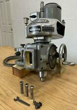 Bridgeport Milling Machine T Cherrying Head Attachment Tested With Collets