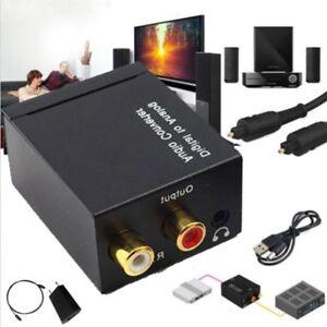 Digitale-analogico-Audio-convertitore-adattatore-3-5mm-Jack-RCA-ottico-Spina-EU