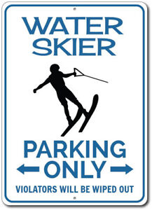 Water-Skier-Parking-Sign-Water-Skier-Sign-Gift-for-Water-Skier-ENSA1002630