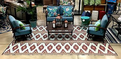 Clearance Outdoor Plastic Straw Patio Rug 9 X 12 Rv Camping Picnic Mat 300 643485720300 Ebay